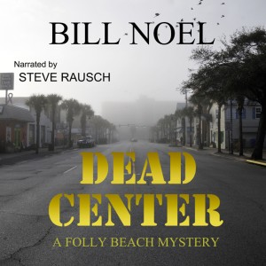 DEAD CENTER for Audiobook and webpage